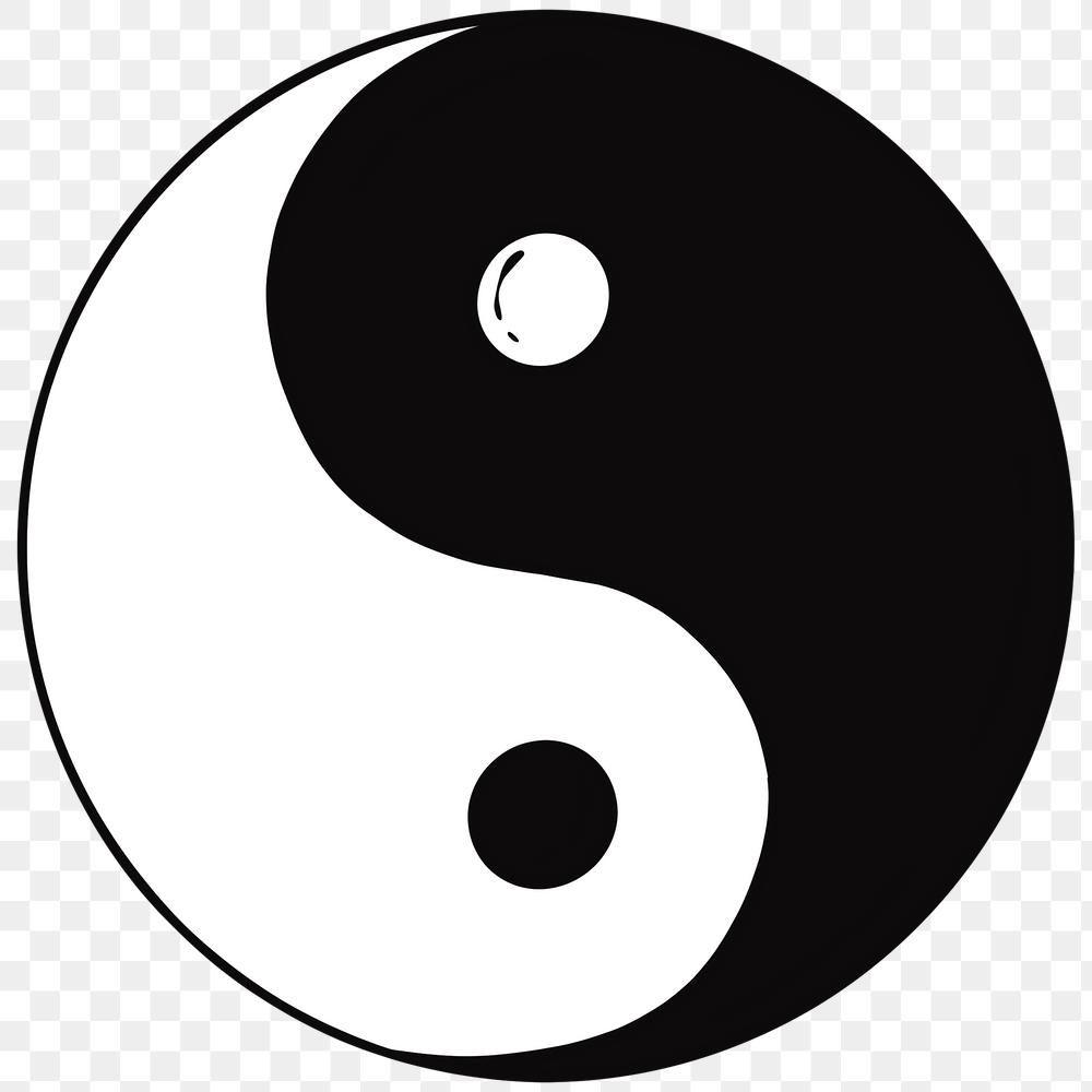 Png Balanced Yin Yang Symbol Free Image By Rawpixel Com Noon Yin Yang Yin Symbols