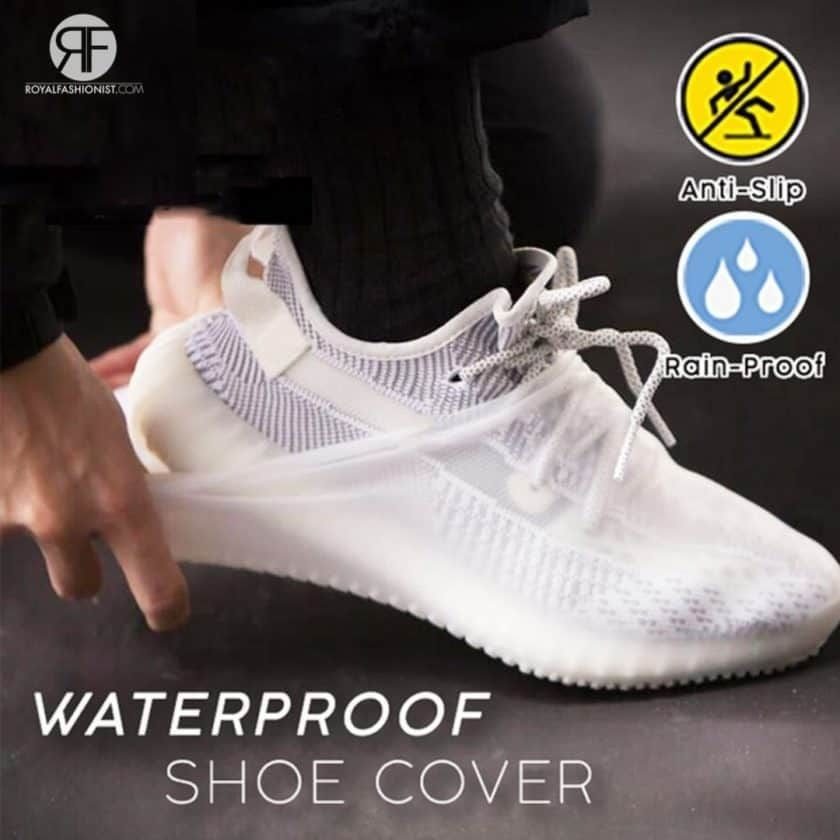 Silicone Shoe Covers Waterproof Overshoes Rain Boot Cover Protectors Anti-Slip