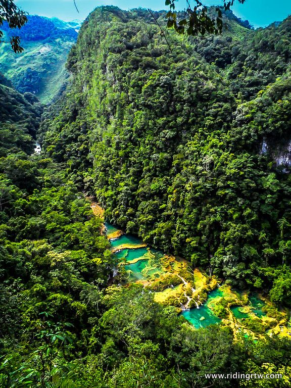 semuc champey Guatemala. One the most breathtaking place in Central America. Projectexpedition gives you a number of tour in #Semuc #Champey !!