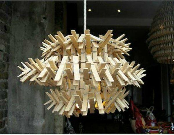 12 Ideen für selbstgemachte Lampenschirme