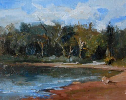 """""""Summer Lake Afternoon"""" by Kelli Folsom"""