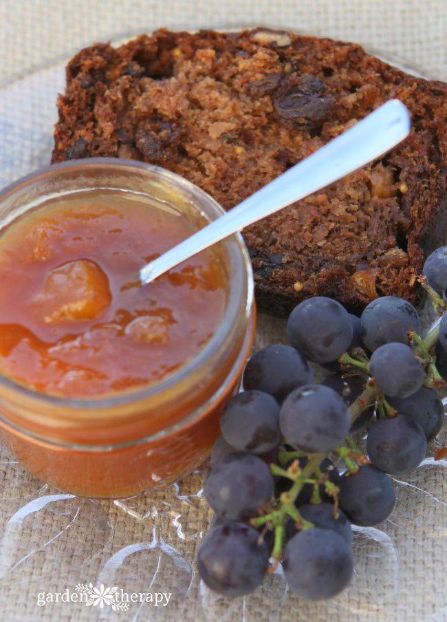 Heavenly spiced peach brandy jam recipe