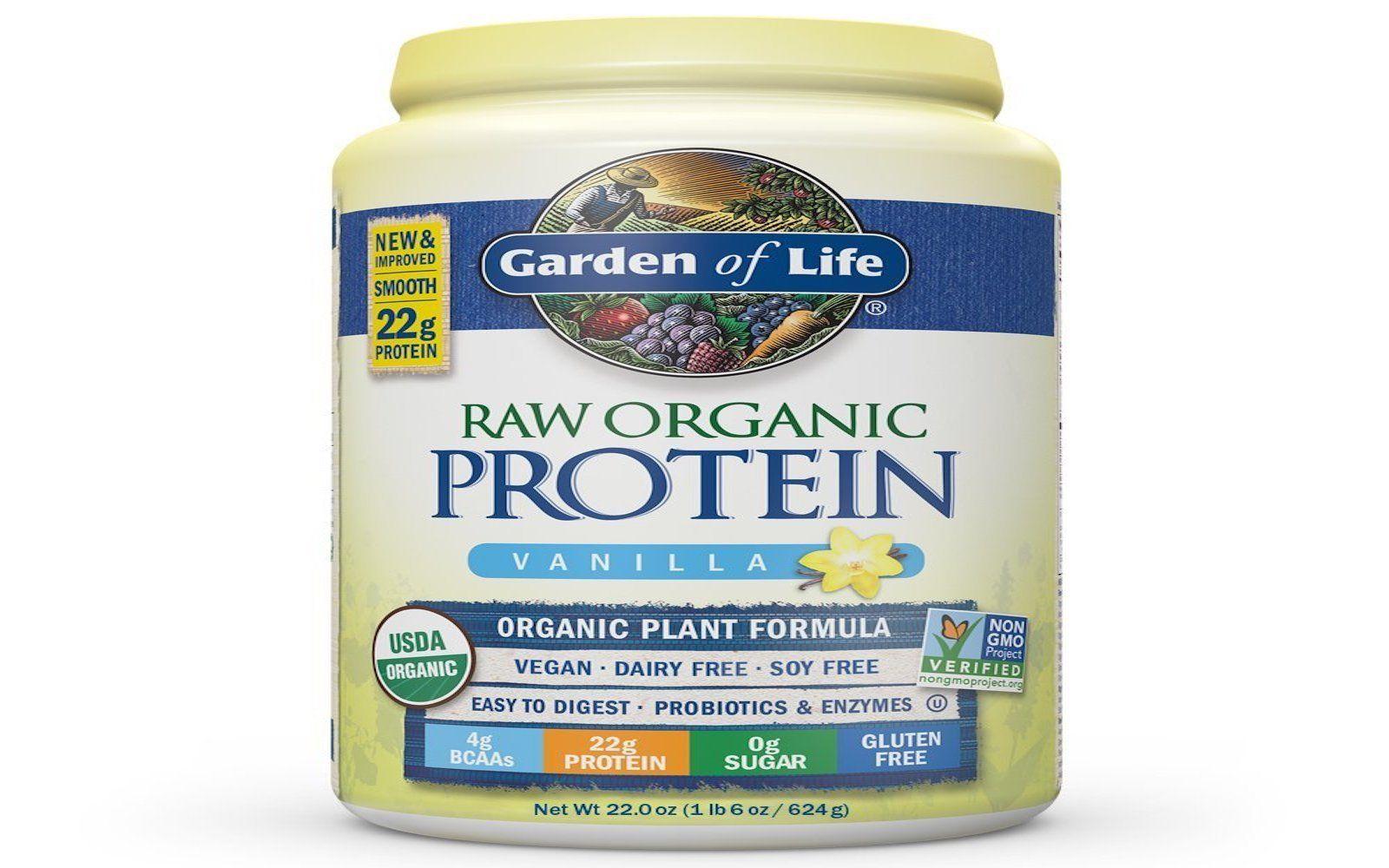 garden of life raw protein powder Raw protein, Vegan