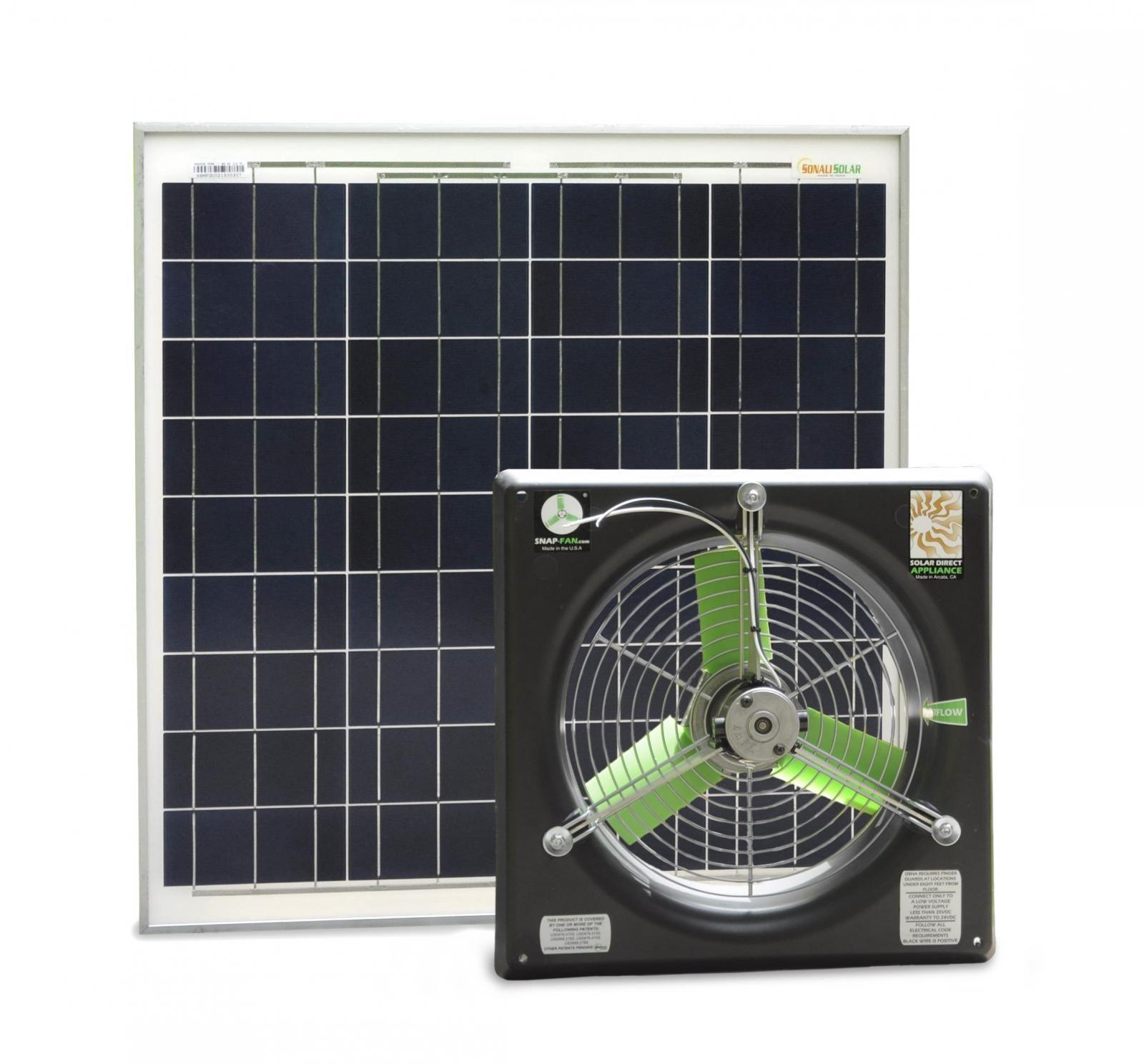 Solar Powered Gable Fan Solar Solar Power Solar Panels