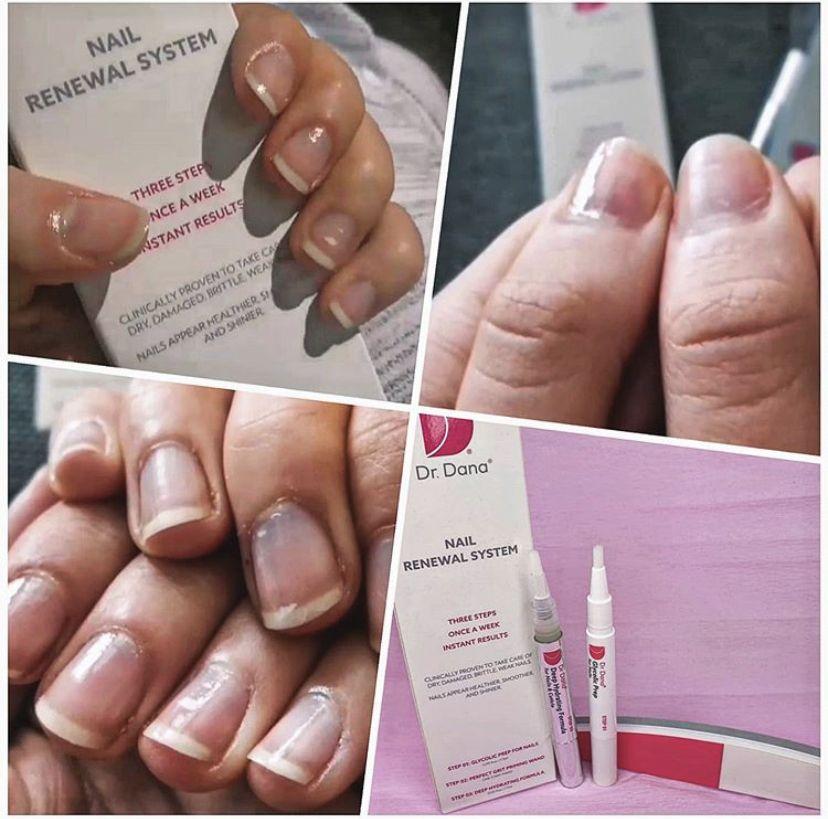 Dr Dana Nail Renewal System 3 In 1 Nails Nuskin Shiny Nails
