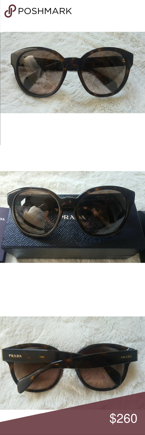 7000b44049e9 ... cheapest prada sunglasses authentic prada tortoise brown sunglasses spr  18r. only worn a handful of ...