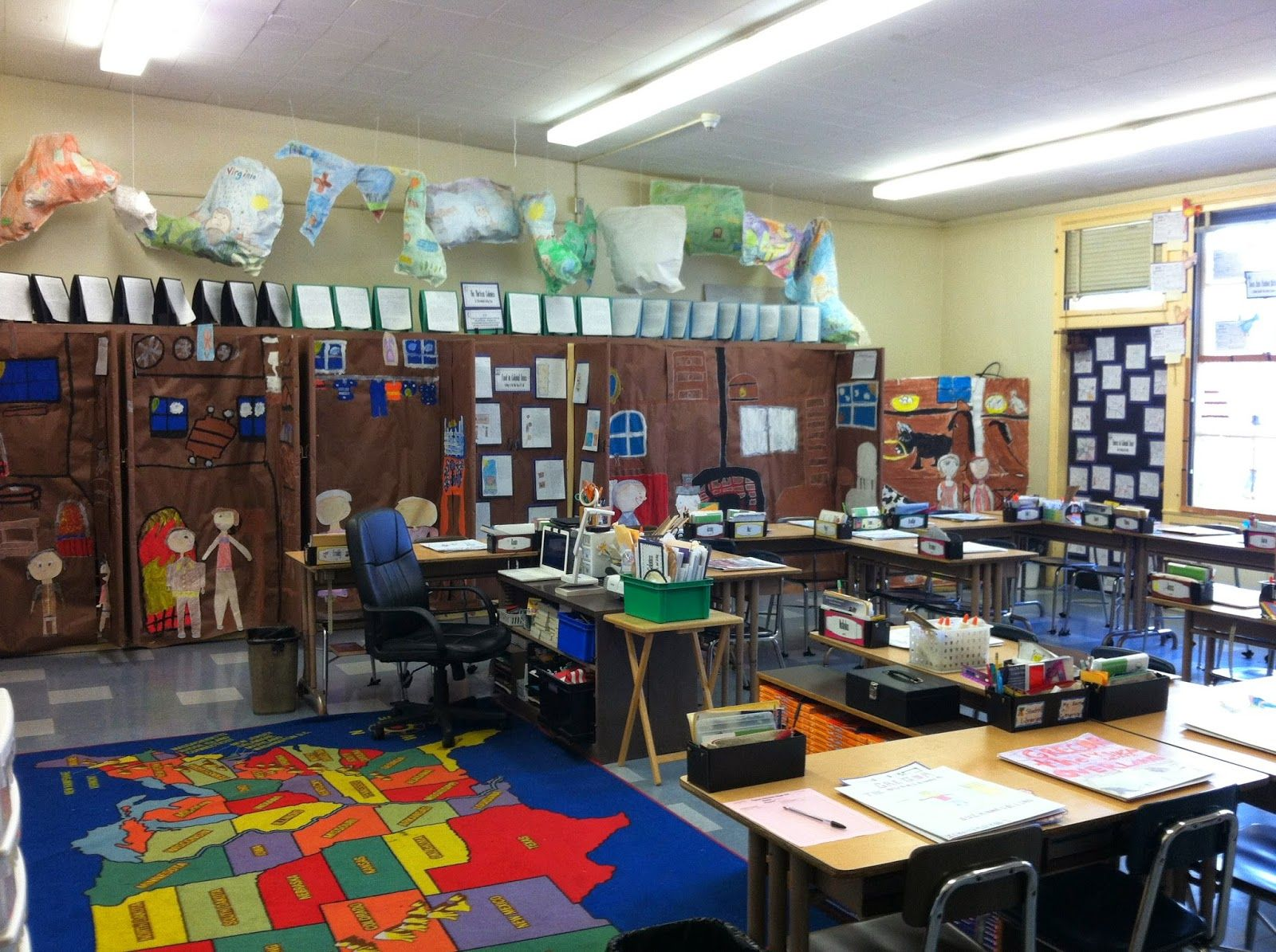 A Tour Of My Colony Classroom Tour