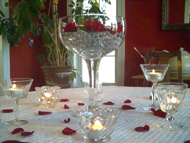 Suggestions For 50th Wedding Anniversary Gifts: 50th Anniversary Centerpieces