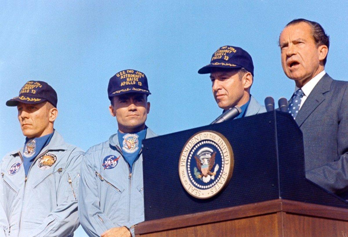President Richard Nixon Apollo 13 Space POSTER
