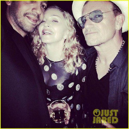 Madonna Kicks Off Her 56th Birthday Celebration With Bono Her Family More Madonna Has Been Posting Pics To Instagram Fr Madonna Albums Madonna Photos Bono