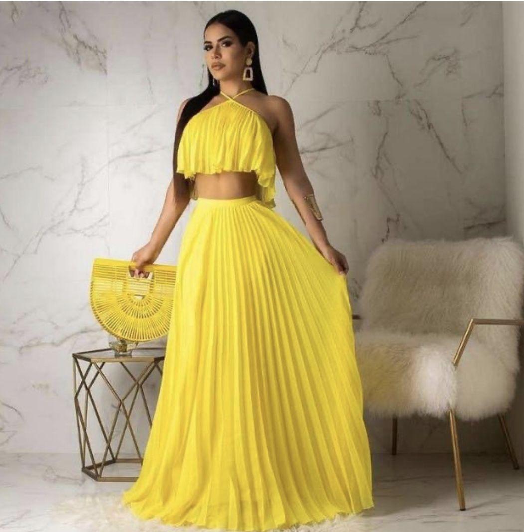 Women S Two Piece Maxi Dress Two Piece Long Dress Chiffon Summer Dress Women Long Dresses [ 1068 x 1051 Pixel ]