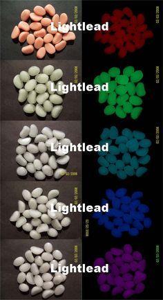 Outdoor Glow In The Dark Pebbles Artificial Stone