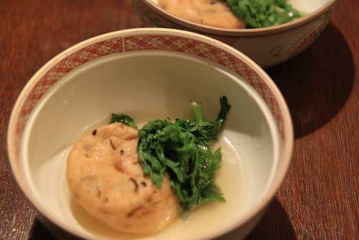 がんもどきと菊菜の炊きき合わせ   Mikageマダムさまのお料理本より、また拝借したレシピで作りました。 じっくり煮込んだお料理は上品な味付けで、とても美味しくいただきました。 有難うございます。  <材料>2人分  がんもどき・・・・・・・・・・・・・2個  A   だ...