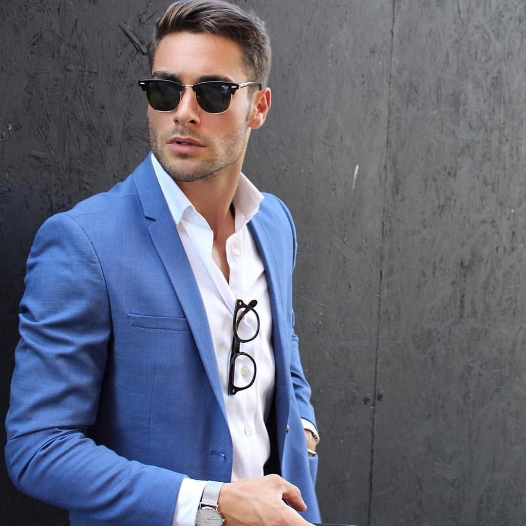 Light blue suit from @francesco_lo_moro | The Stylish Man ...