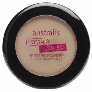 A DUPE for MAC Cosmetics Studio Fix Powder Plus Foundation: australis Fresh & Flawless Pressed Powder
