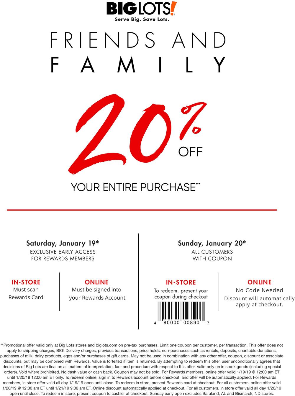 Big Lots 🆓 Coupons & Shopping Deals! Shopping coupons
