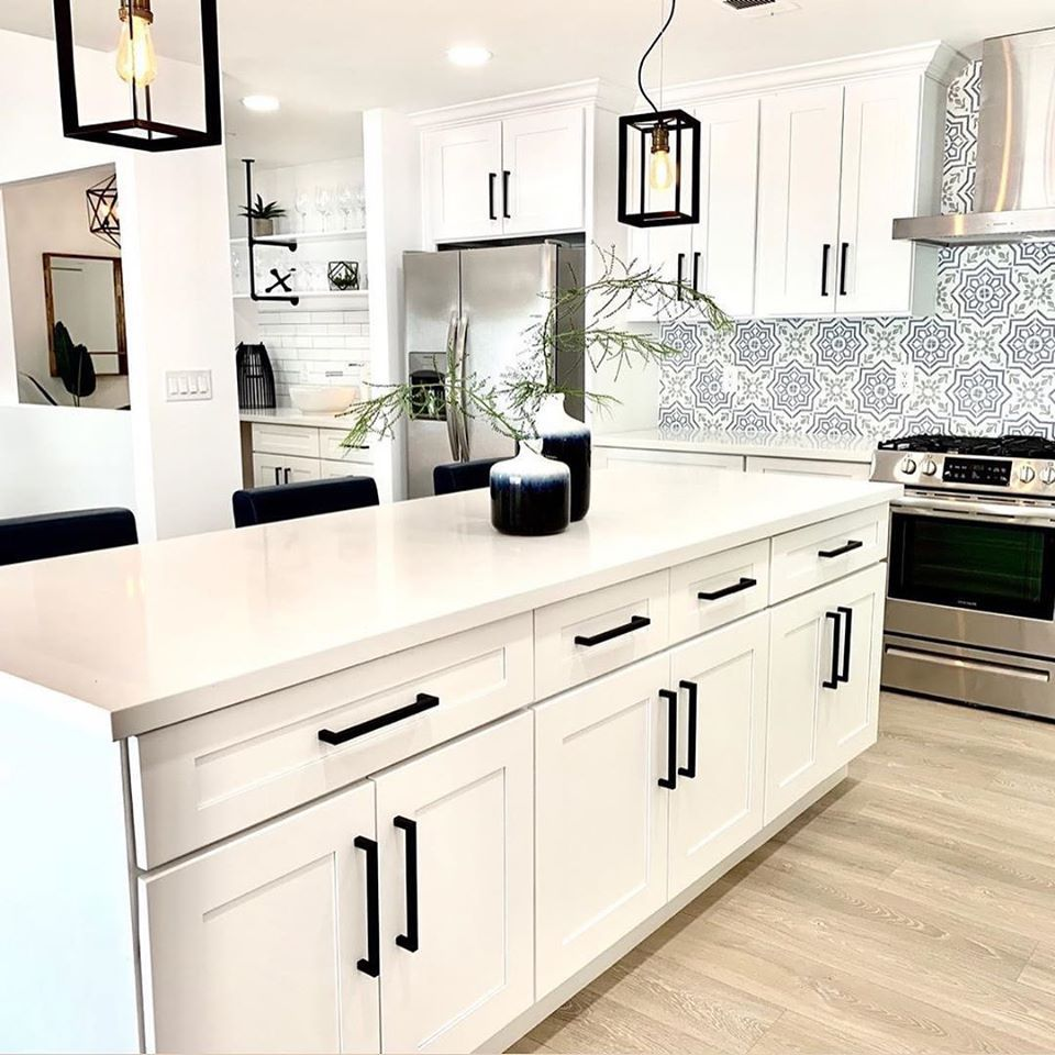 Modern Spanish Kitchen Backsplash Inspo From Floor & Decor ...
