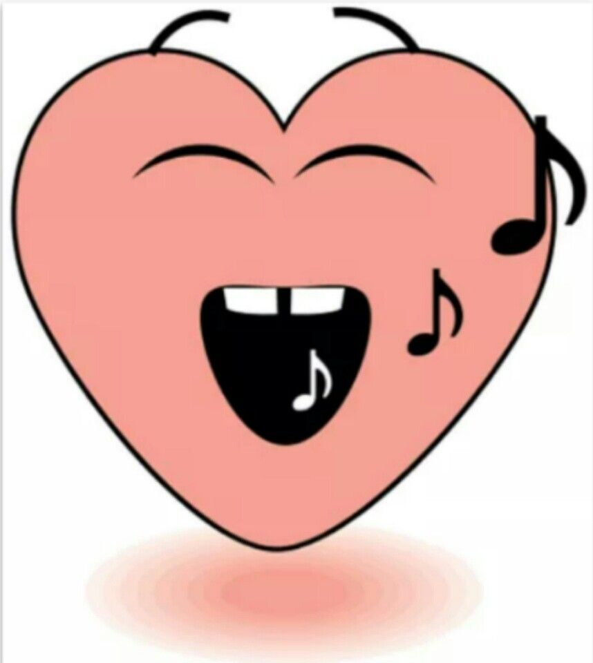 Singing heart emoticons pinterest singing heart biocorpaavc Choice Image