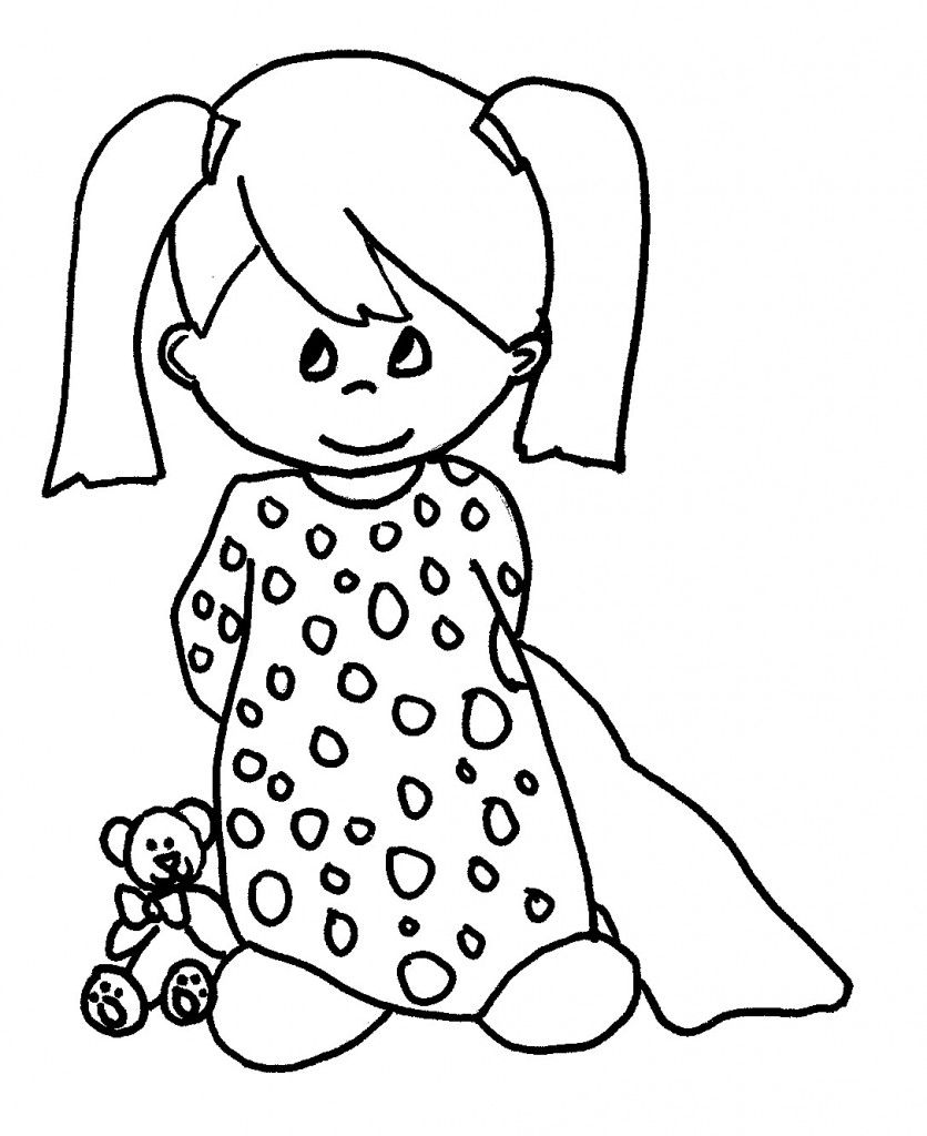 Free Printable Baby Coloring Pages For Kids Cartoon Coloring Pages Coloring Pages For Girls Baby Coloring Pages