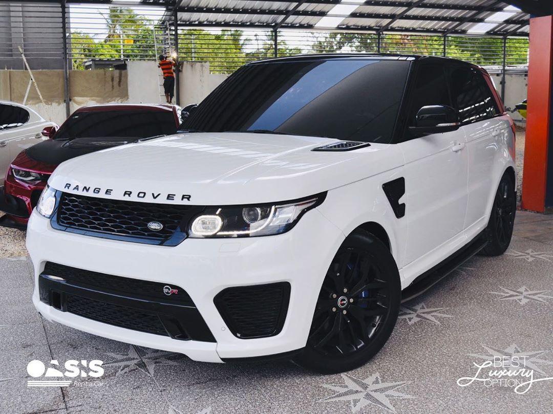 Range Rover Svr Solo En Oasis Rent Car Puedes Encontrarla Best Luxury Option Oasisrentacardr For More In Range Rover Svr Range Rover Rent A Car