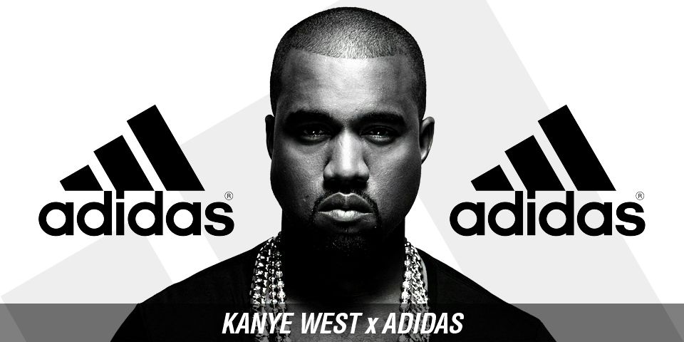 Kanye West In Adidas Collab Advertisement Image Source Msapanora1 2012 Self Image And Attitudes Celebrity Endorsements Kanye West Adidas Kanye West Kanye