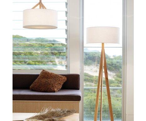 Jacob Oak Floor Lamp Amp Drum Pendant Oak Floor Lamp Beacon Lighting Floor Lamp Lighting