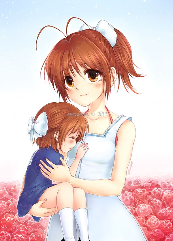 Mother And Daughter By Oceantann Anime Child Cute Art Anime Family