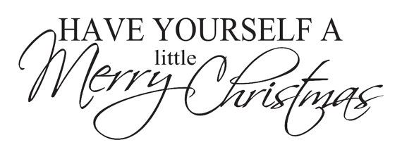 Have Yourself A Merry Little Christmas Sign.Primitive Christmas Holiday Stencil Have Yourself A Merry