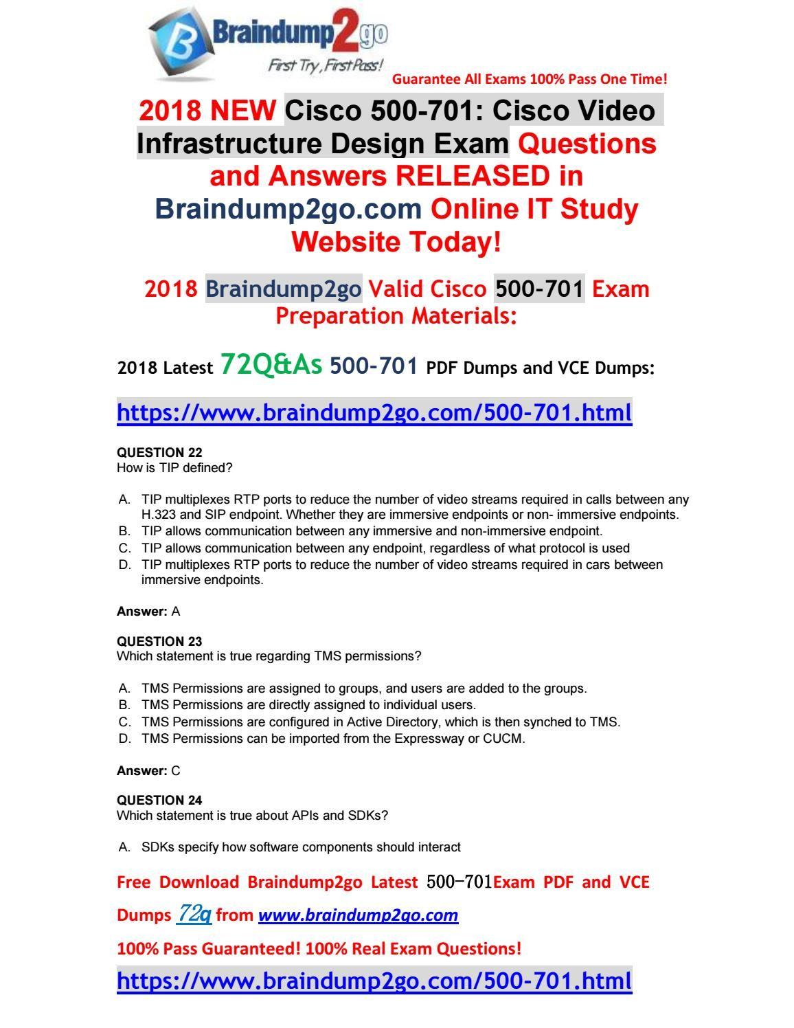2018 new cisco exam 500 701 vce dumps 72q\u0026as free share(22 322018 new cisco exam 500 701 vce dumps 72q\u0026as free share(22 32)