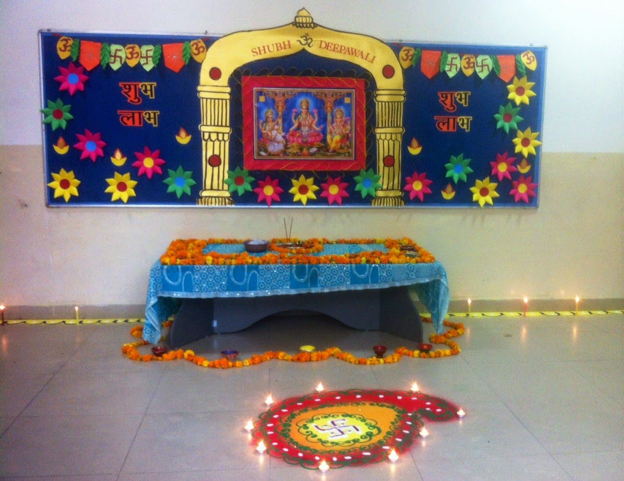 Temple Decoration Ideas My Web Value