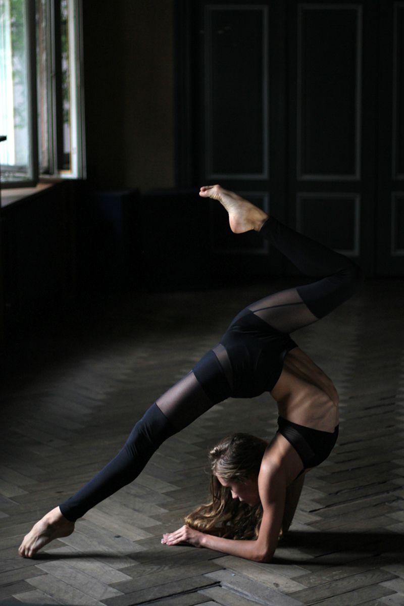 15a2182c50ed8 Organic Jersey Leggings with Black Mesh Layers