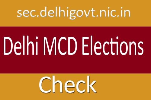 Delhi MCD Election Result 2017