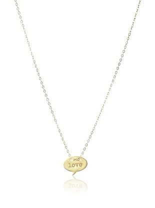 60% OFF Miriam Merenfeld Mini Love Quote Necklace
