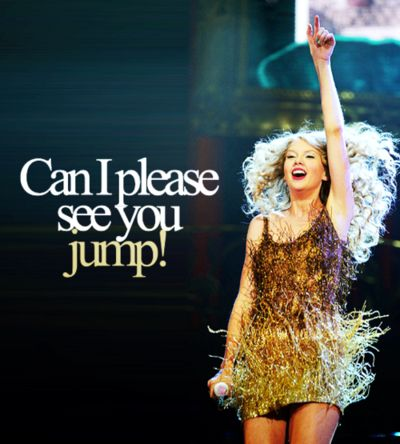 "I have this live version on my iPod, and the part where she says ""can I please see you jump!"" Is literally the best part!"