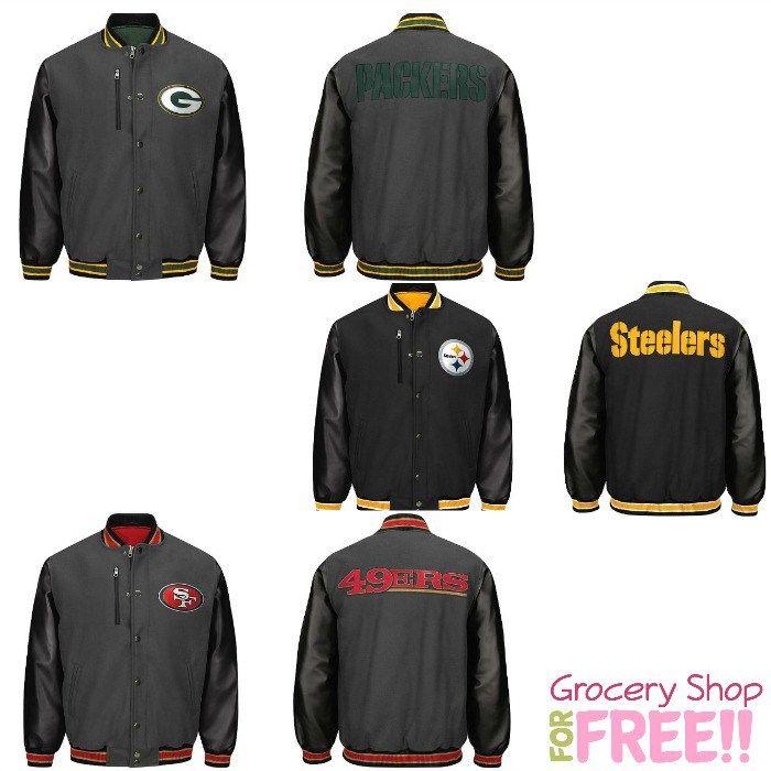 factory price 8b46e aeec6 NFL Mens Varsity Jackets Just $2.51 At Kmart! | HOT Deals ...