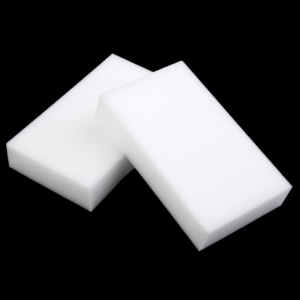 100Pcs Magic Sponge Eraser Multi-functional Melamine Foam Cleaner Cleaning Clean
