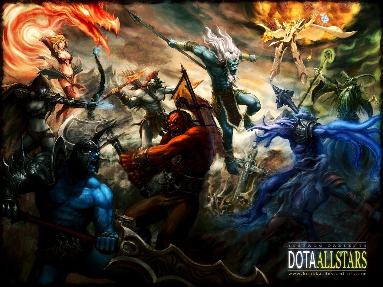 Dota Warcraft Resumiendo Vida Game Hd Wallpaper Game Hd