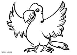 Disegni Di Pappagalli Da Stampare E Colorare Gratis Portale Bambini Parrot Coloring Coloringpages Color Pagine Da Colorare Di Natale Disegni Pappagalli