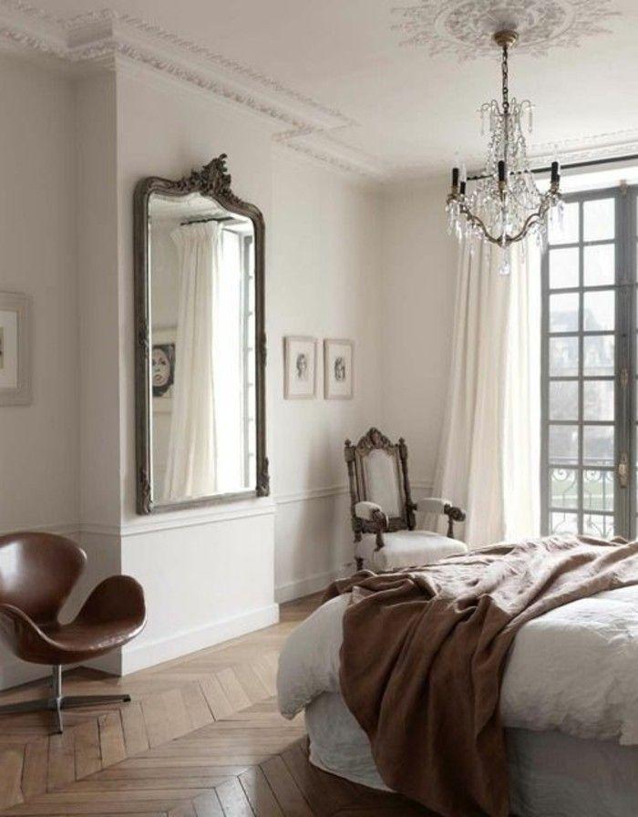 comment d corer avec le grand miroir ancien id es en photos pinterest. Black Bedroom Furniture Sets. Home Design Ideas
