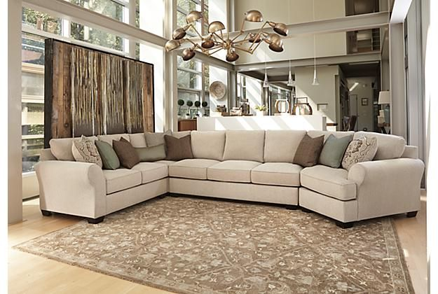 Ashley Furniture Wilcot sectional with cuddler | Living room ...