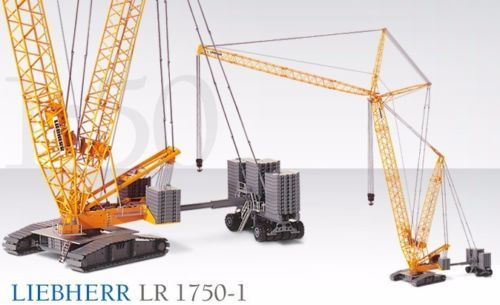 Conrad 2736 Liebherr Lr 1750 Raupenkran Lego Crane Fire Trucks Crane
