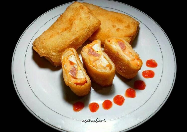 Resep Risoles Isi Sosis Mayones Makanan Enak Makanan Makanan Dan Minuman