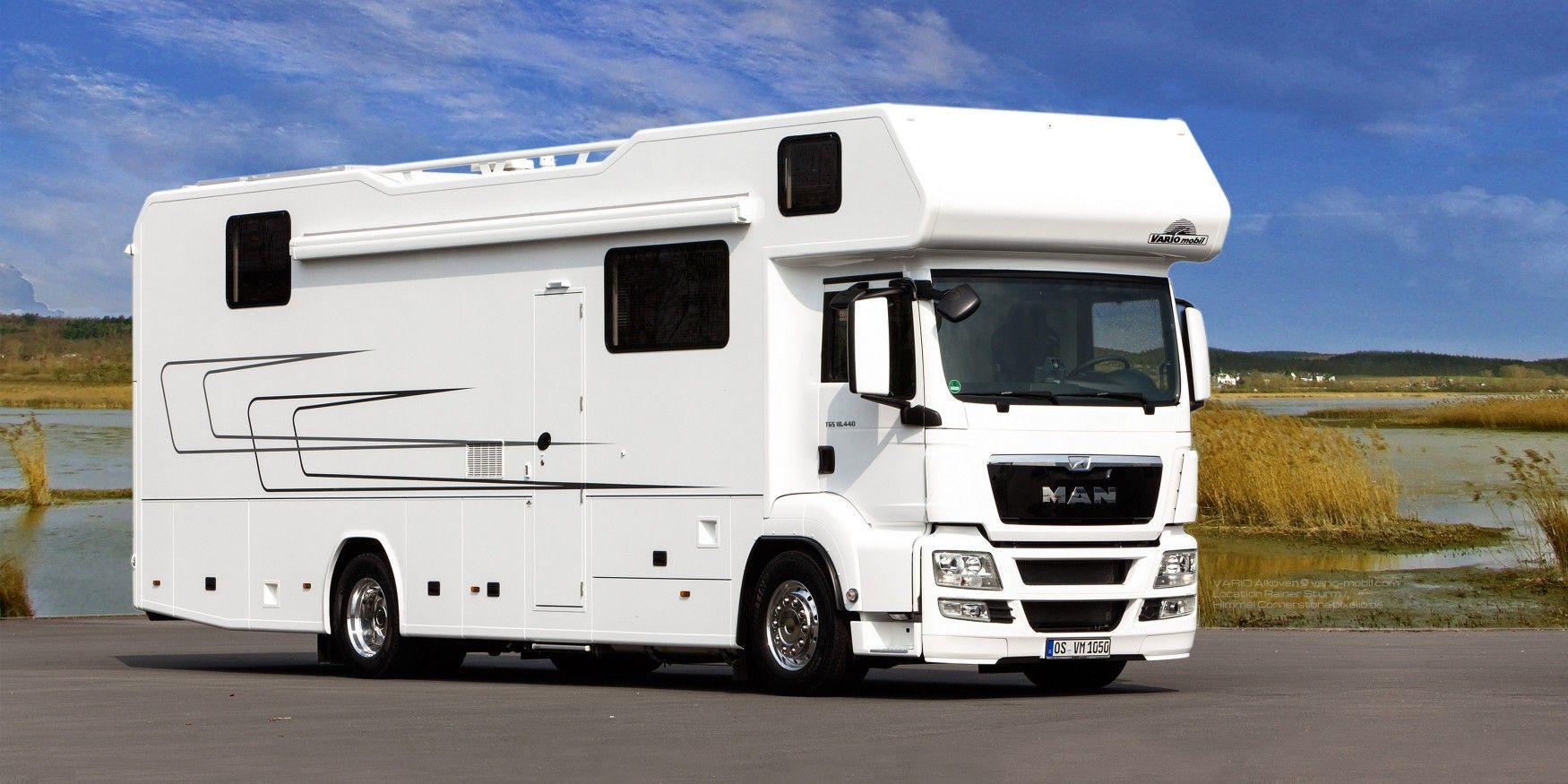Das Raumwunder Wohnmobil, Luxus wohnwagen und Wohnwagen