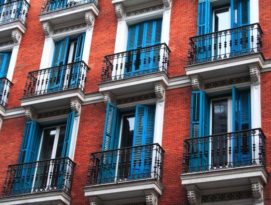 Facade On Calle Duque De Rivas Near Tirso De Molina