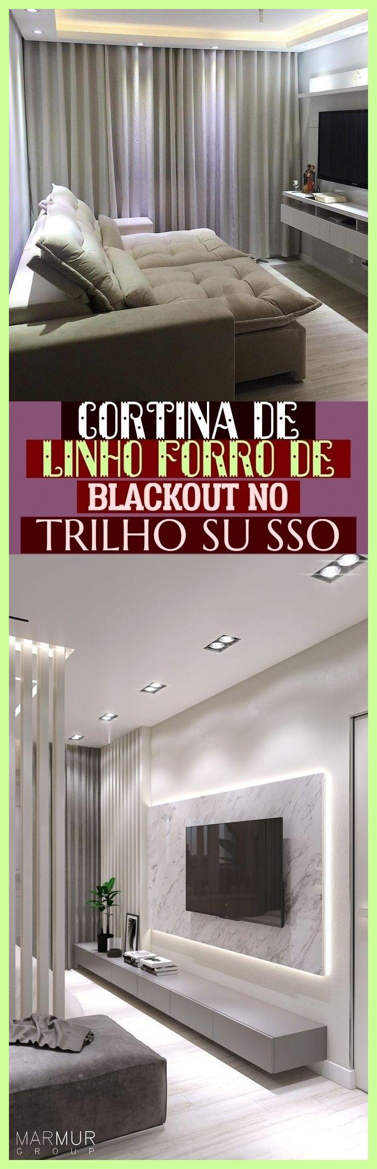 cortina de linho forro de blackout kein trilho su sso - Cortina De Linho Forro De Blackout No Trilho Su Sso