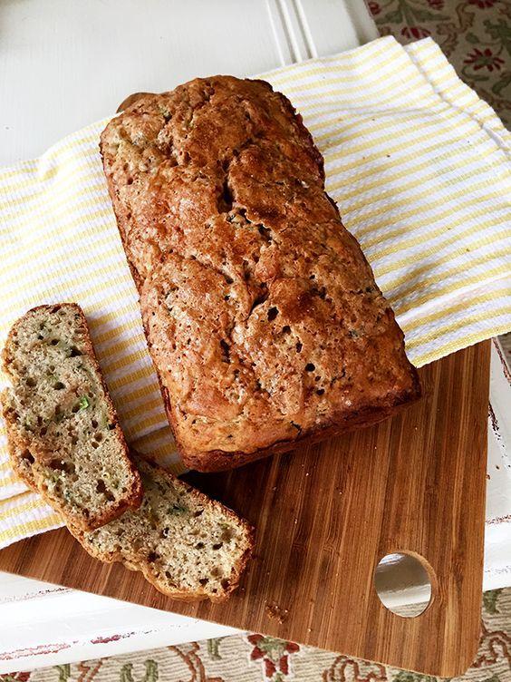 a quick and easy zucchini bread recipe with buttermilk