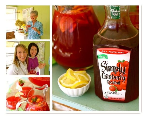 Celebrate Spring with Simply Cranberry {giveaway #lemonadepunch