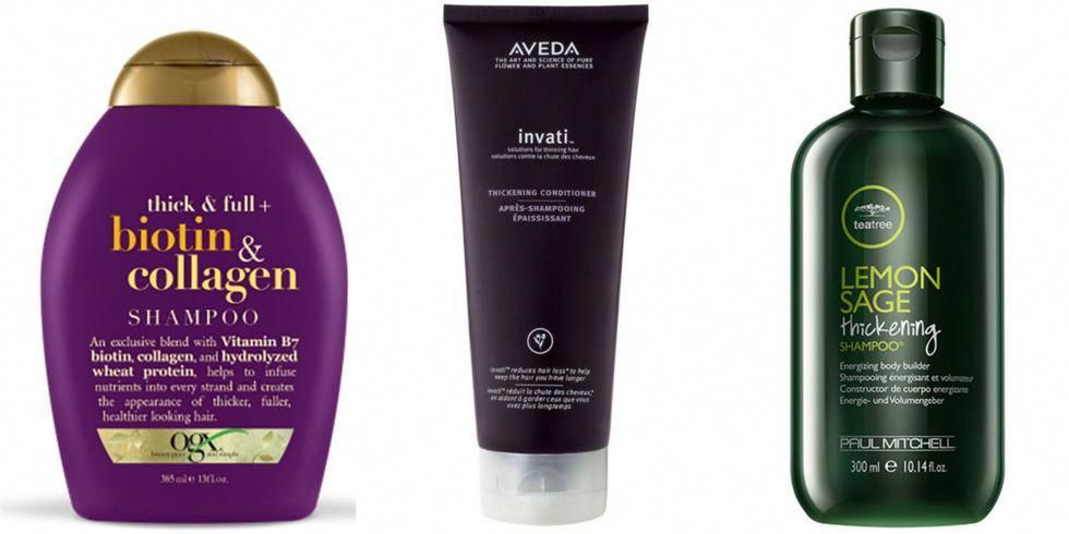 Shop The Best Shampoos And Conditioners For Thicker Fuller Hair Best Hair Thickening Shampoo Hair Thickening Shampoo Thickening Shampoo