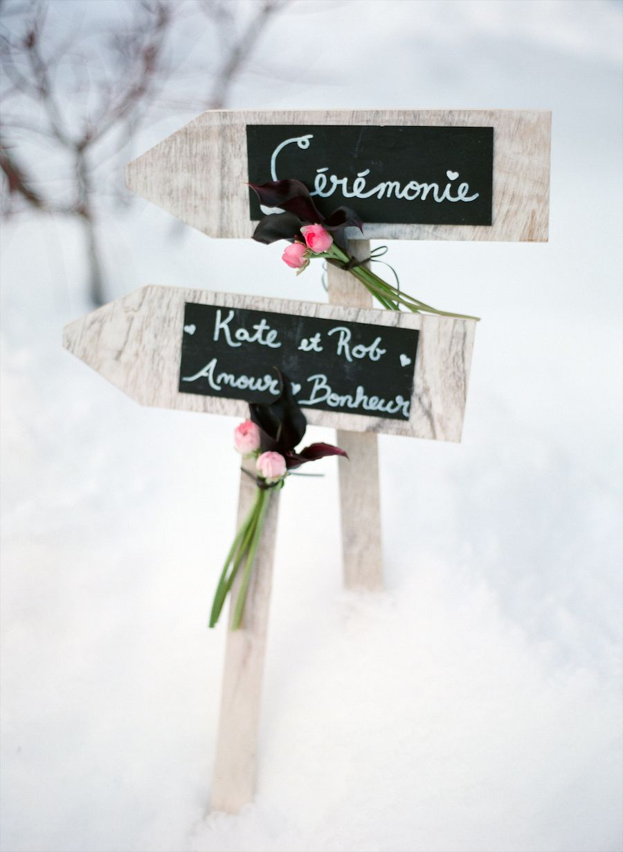 Megeve, France Winter Wedding from Aneta MAK | Winter weddings ...
