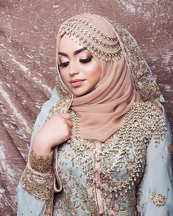5988ef50a45 10+ Brides Wearing Hijabs On Their Big Day Look Absolutely Stunning